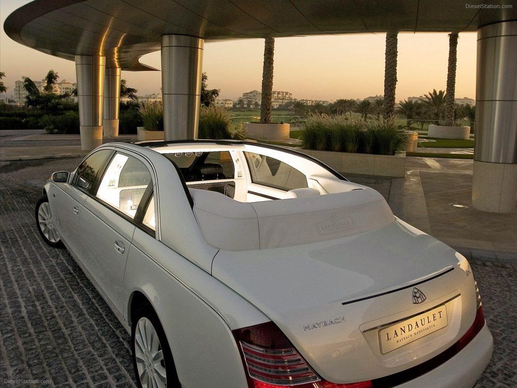 Maybach Landaulet precio aproximado 900.000 euros.