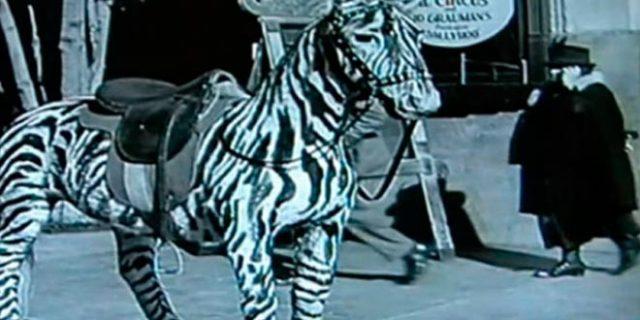 La película de Charles Chaplin titulada El circo esconde a un viajero del tiempo
