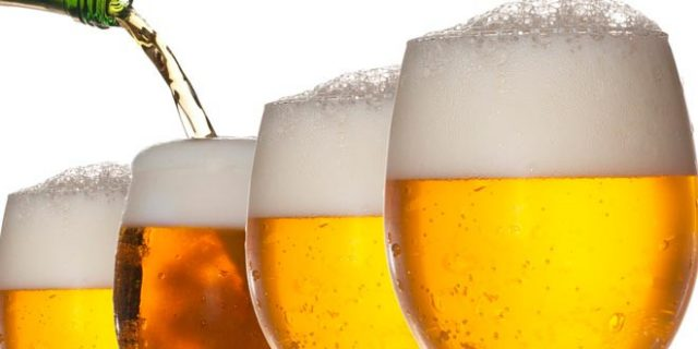 Crece la barriga al beber cerveza
