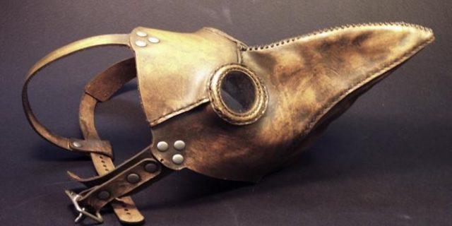 Por qué las máscaras de la peste negra tenían forma de pico