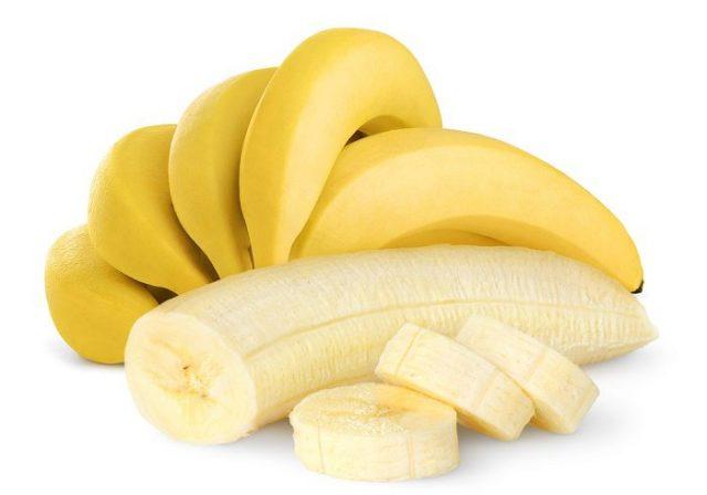 Plátano-cortado