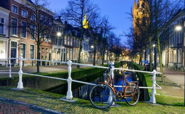 Holanda el paraiso para los ciclistas