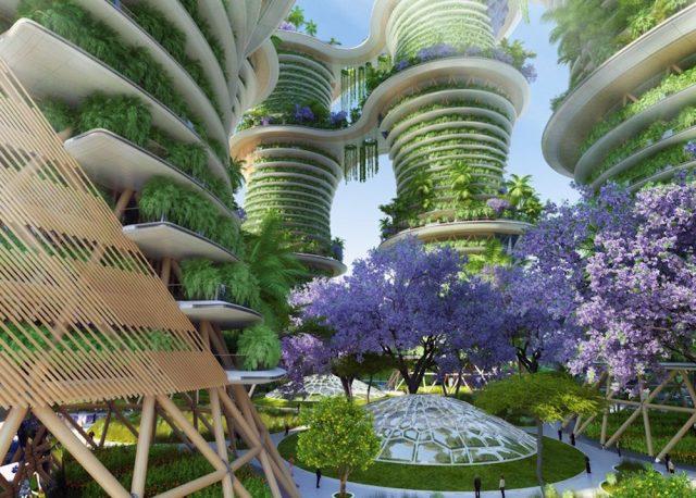 La idea de la ciudad vertical