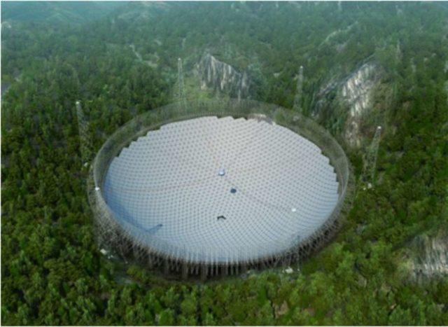 Se construye un telecsopio par cazar seres de otros planetas