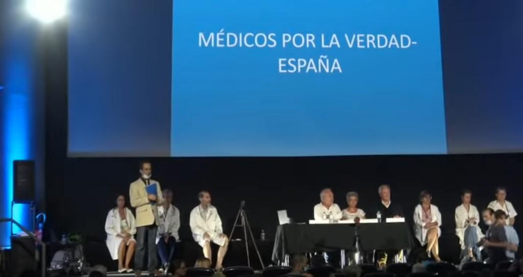 video Rueda de prensa médicos por la verdad
